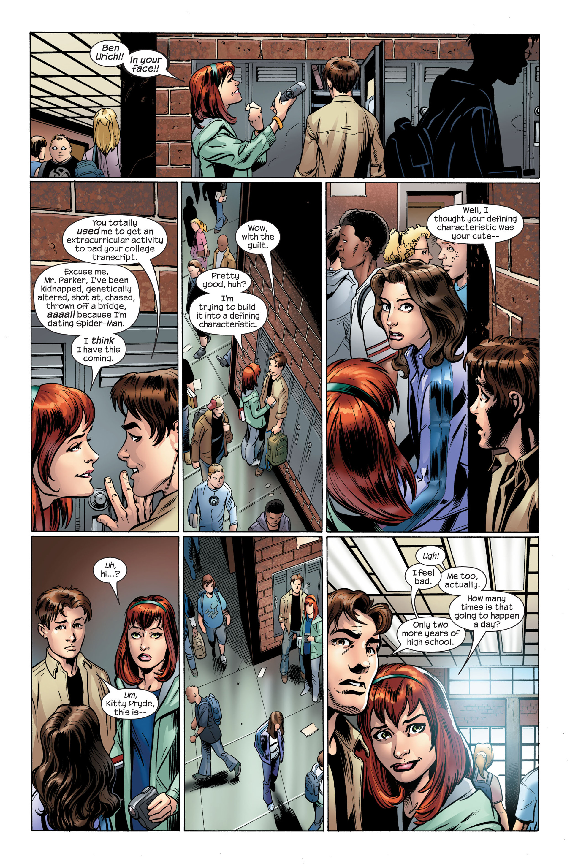 Read online Ultimate Spider-Man (2000) comic -  Issue #108 - 12