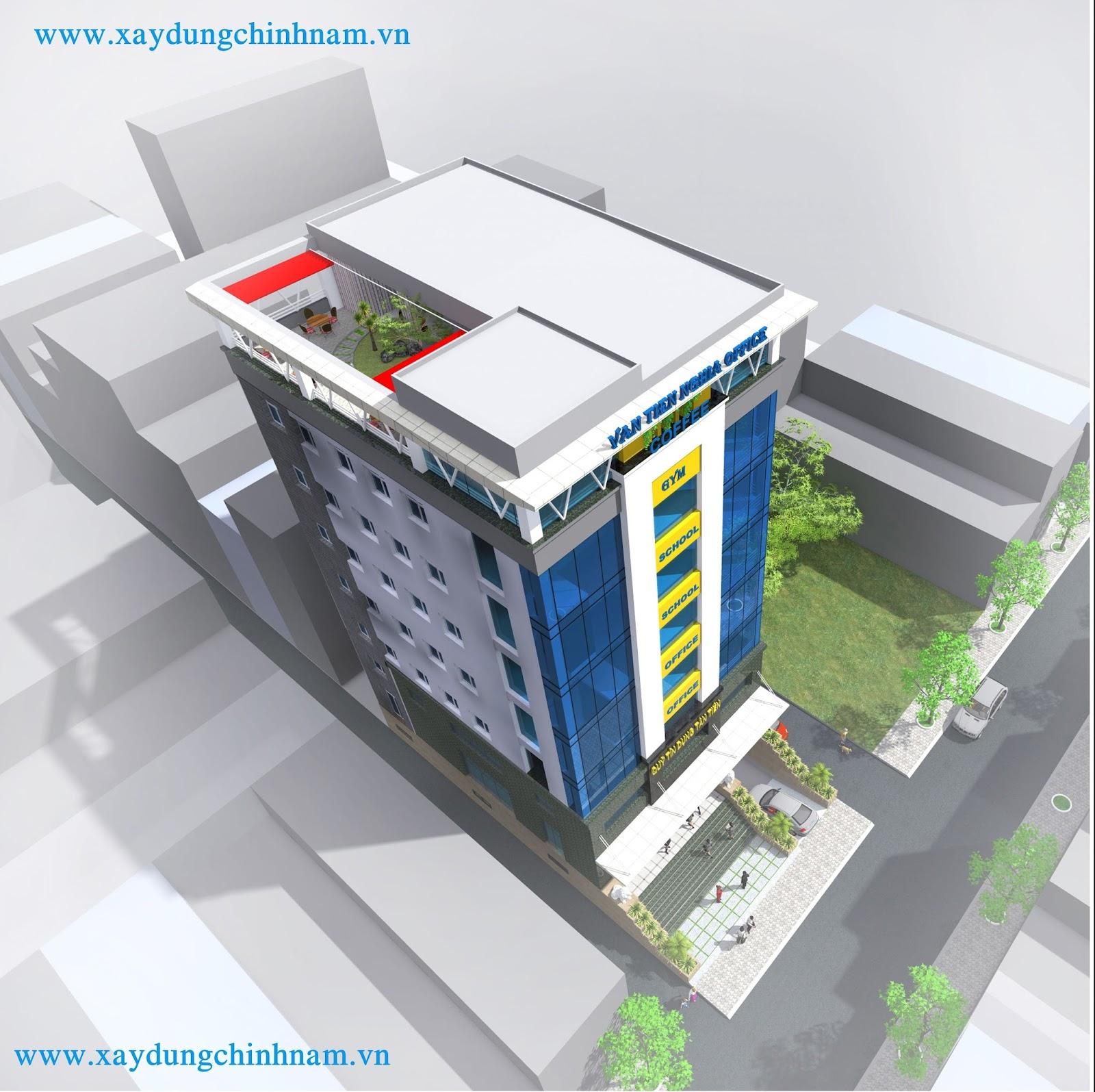 thiết kế nhà cao tầng tại Biên Hoà Đồng Nai