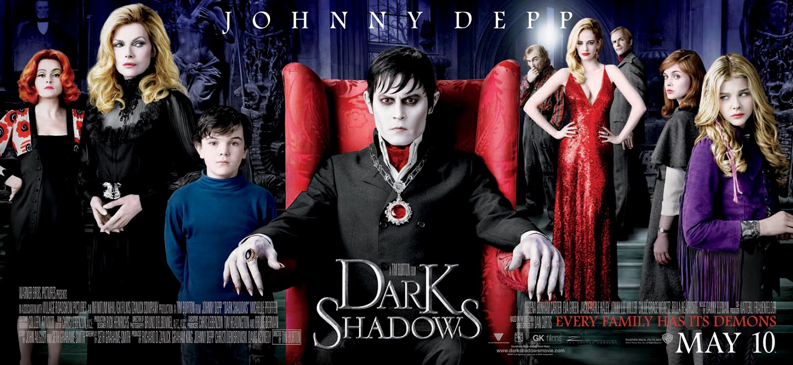 dark shadows news page new shadows movie banner gathers the cast
