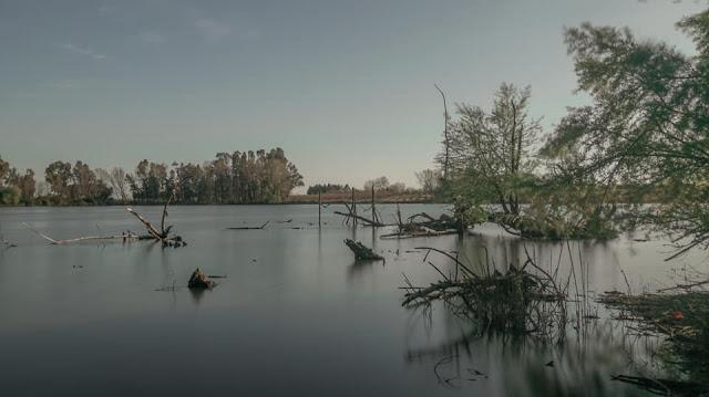 Panorama al Lago di Falciano