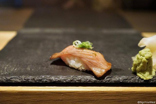 Miyazaki Wagyu Sushi at DOMODOMO in New York City