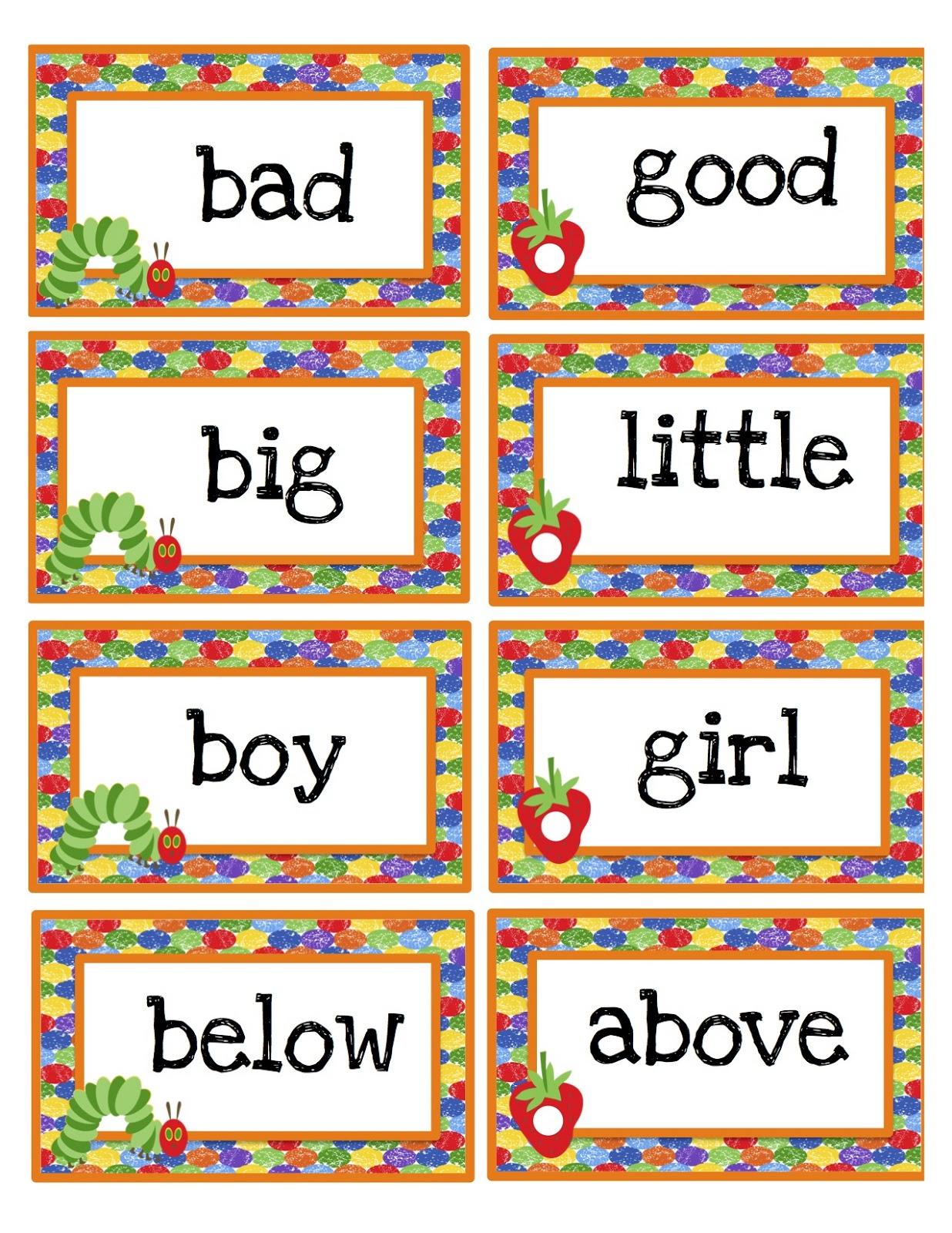 Caterpillar Preschool Printables And Preschool