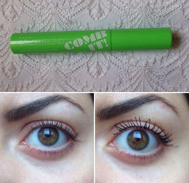 Review mascara comb it avon glorietta 39 s beauty blog for Verde rame quando usarlo