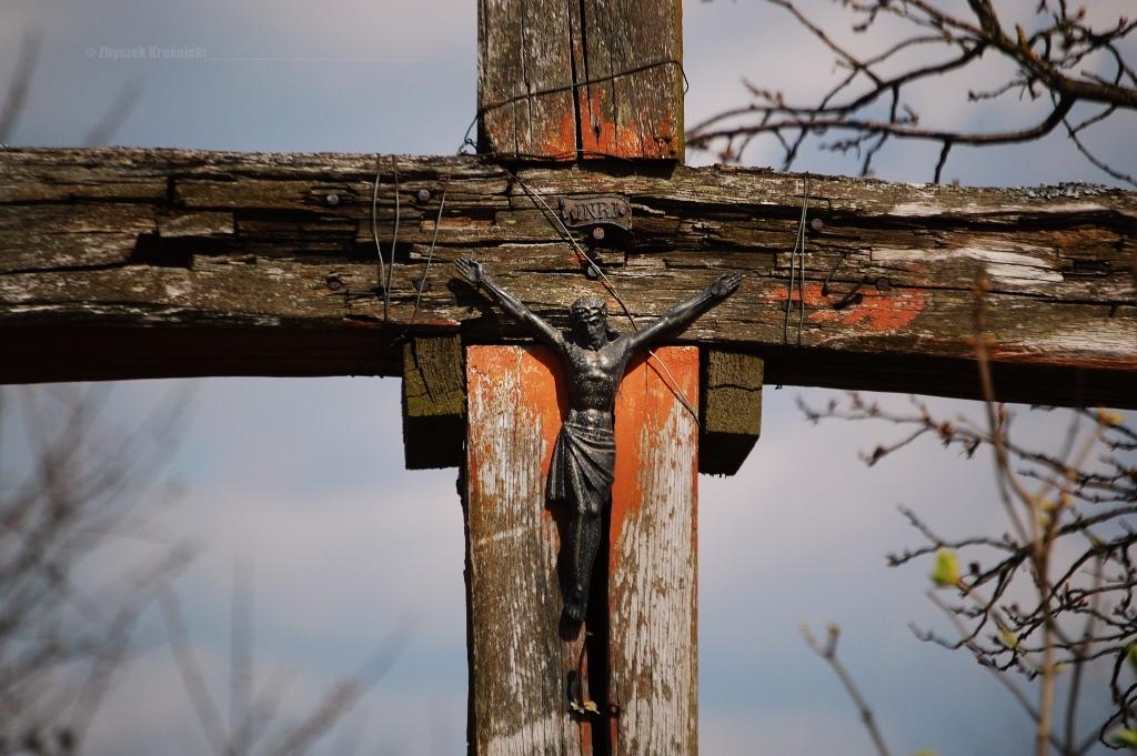 Krzyż przydrożny, warmiński element krajobrazu