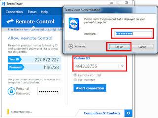Cara Remote Komputer