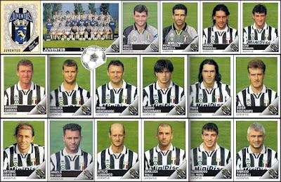 Figurine Panini Calciatori Juventus 1995/96