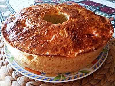 Roscón de Reyes. Desmoldado