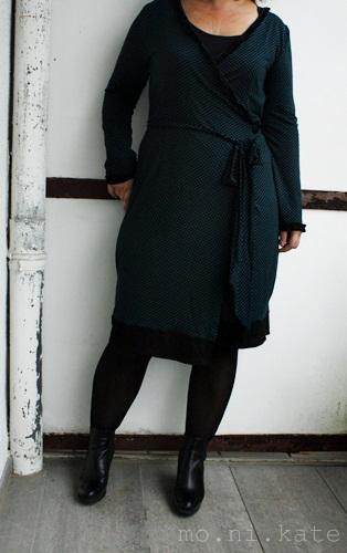 Wickelkleid pantou