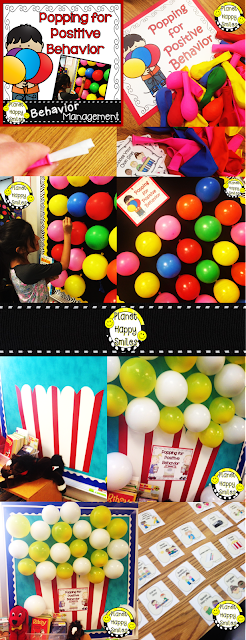 Behavior Management Strategies, Balloon Pop, Planet Happy Smiles