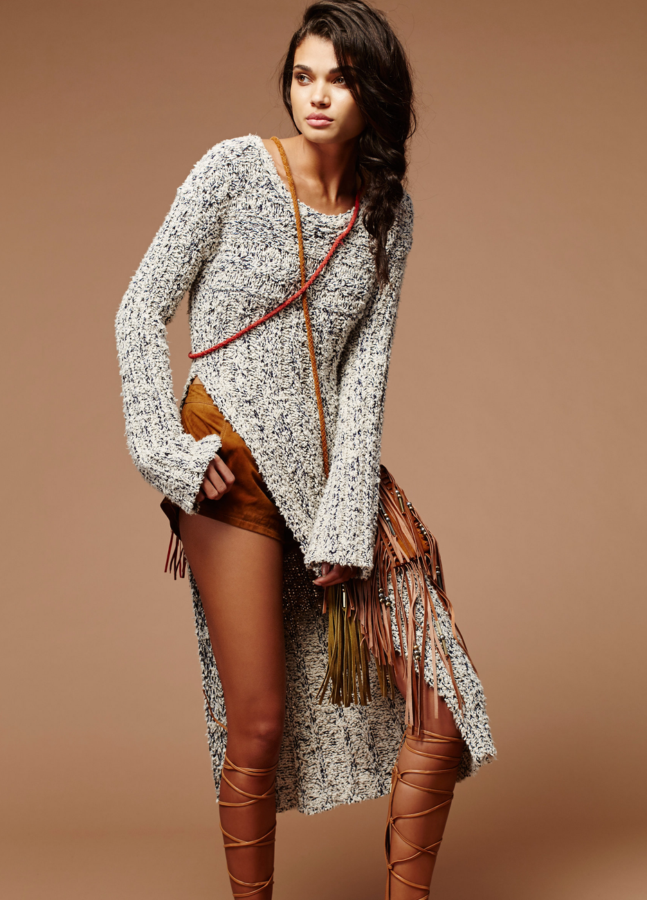 Free People Josephine Cable Tunic