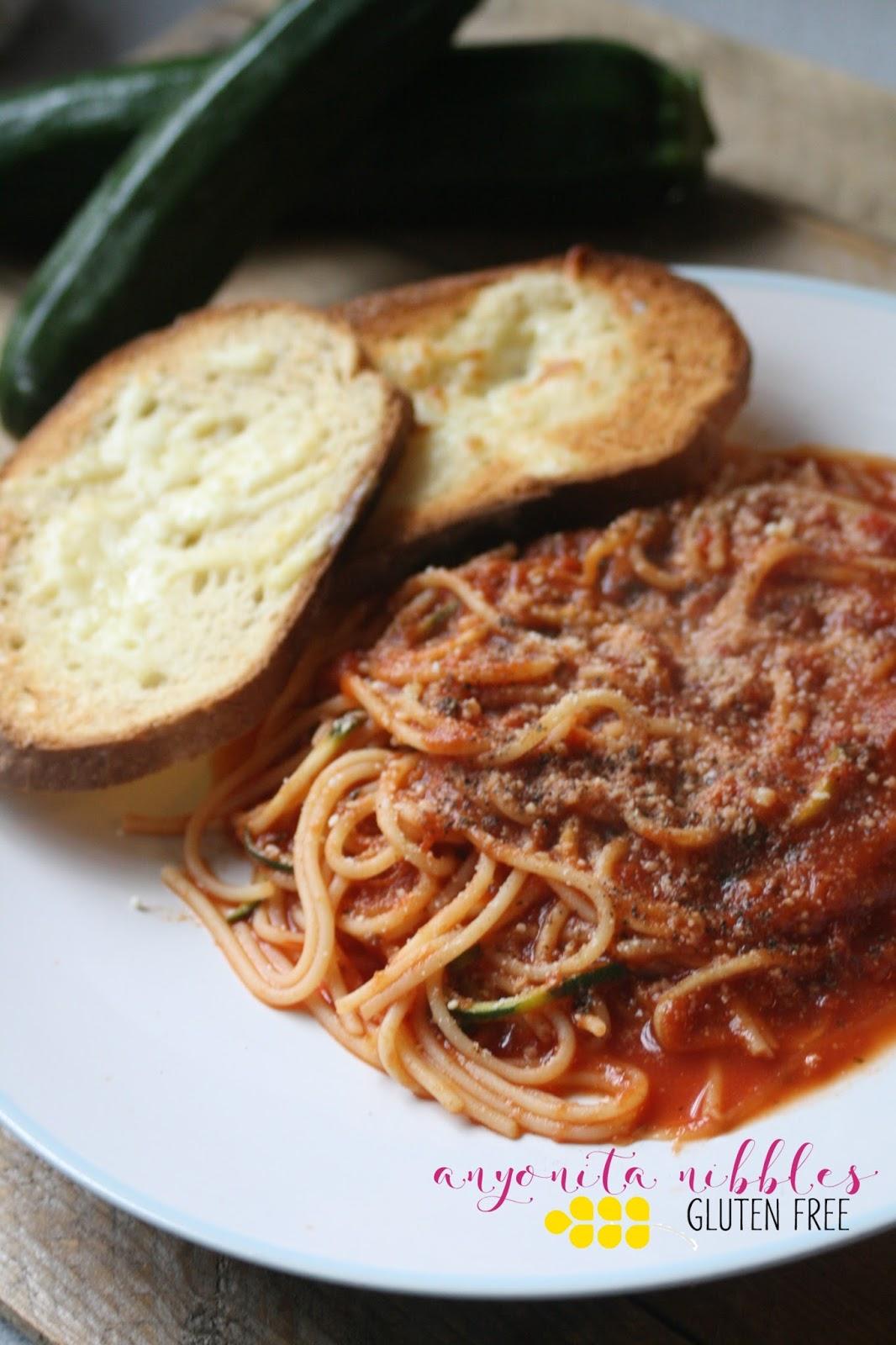 Anyonita Nibbles Gluten Free Recipes Gluten Free Vegan Courgetti Bolognese