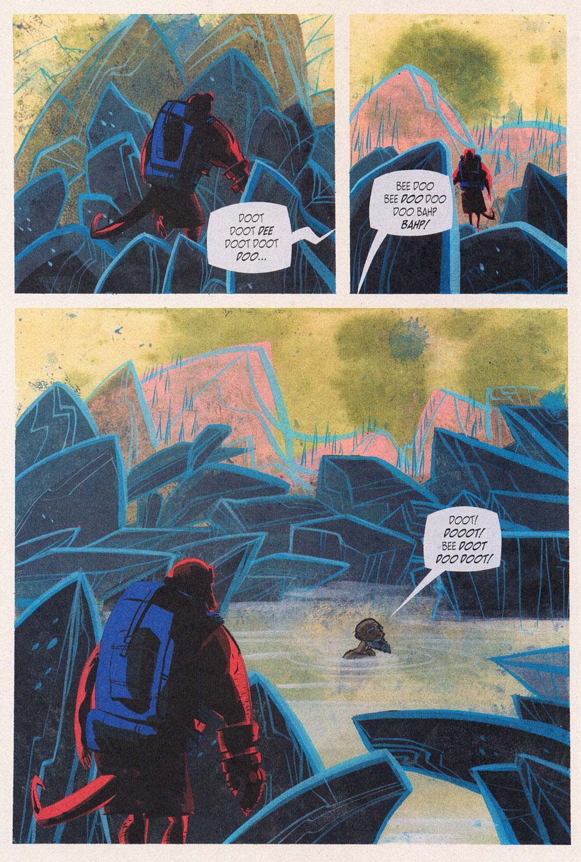 Read online Hellboy: Weird Tales comic -  Issue #5 - 12
