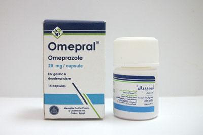 سعر ودواعى إستعمال دواء أوميبرال Omepral كبسولات لعلاج الحموضة