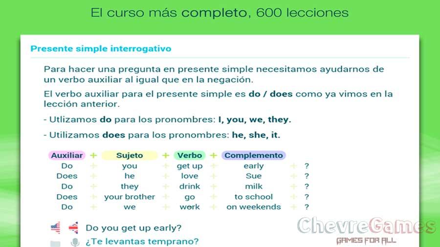 wlingua idioma ingles