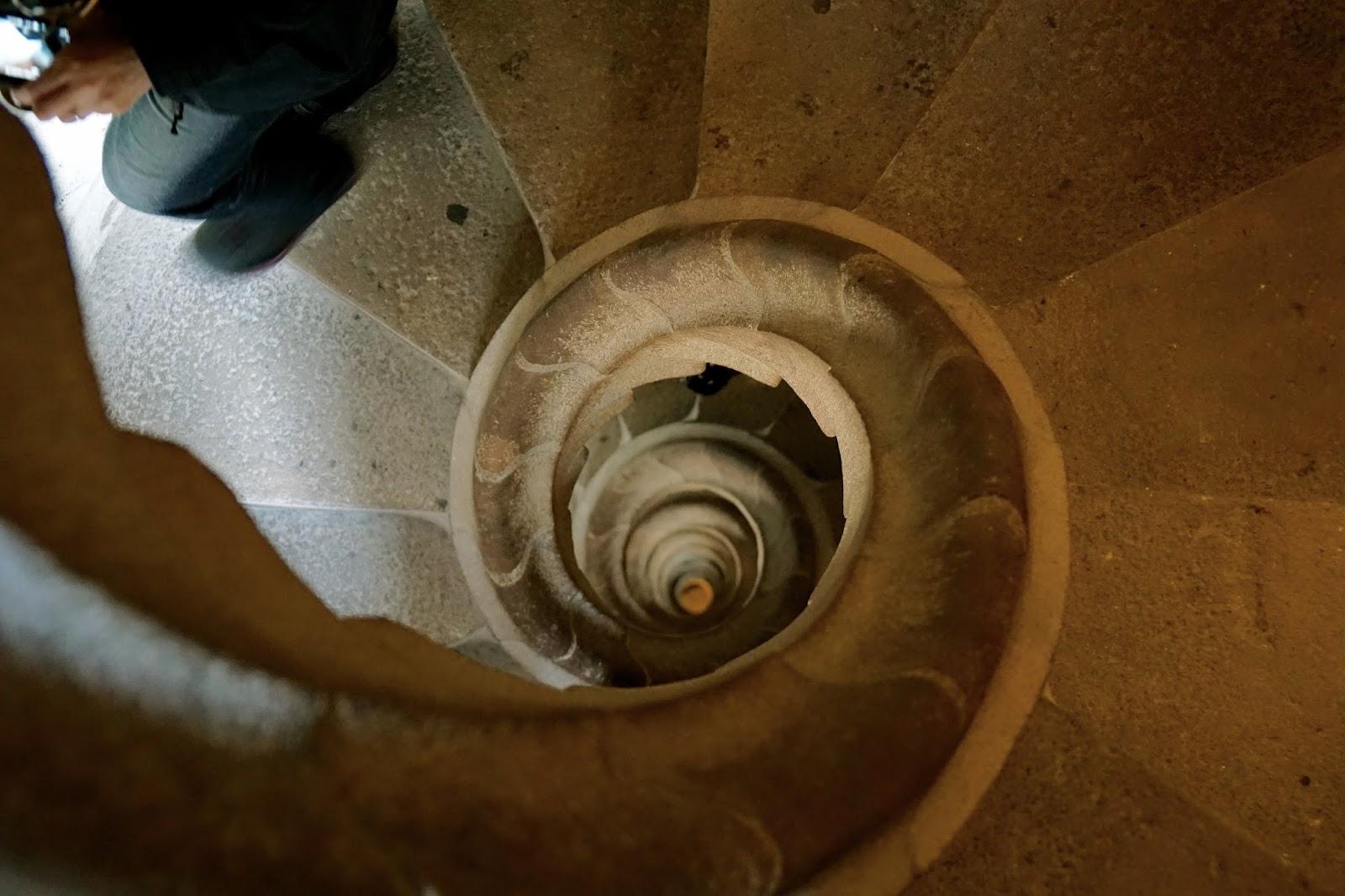 サグラダ・ファミリア (Sagrada Familia) 螺旋階段