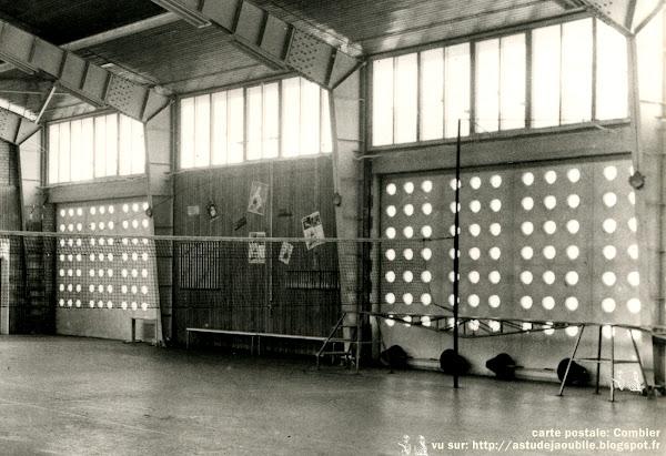 Gondreville - Centre de réadaptation, le gymnase  Architecte: Henri Prouvé  Construction: 1957  Détruit (ou démonté ?)