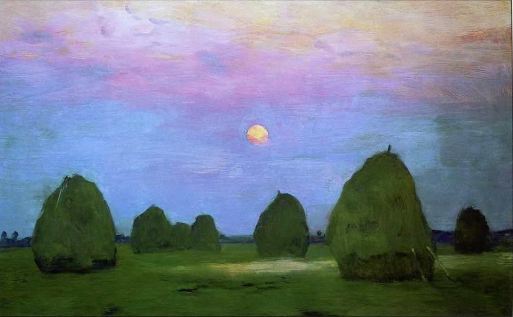 Arte Isaac Levitan A Lithuanian Landscape Painter
