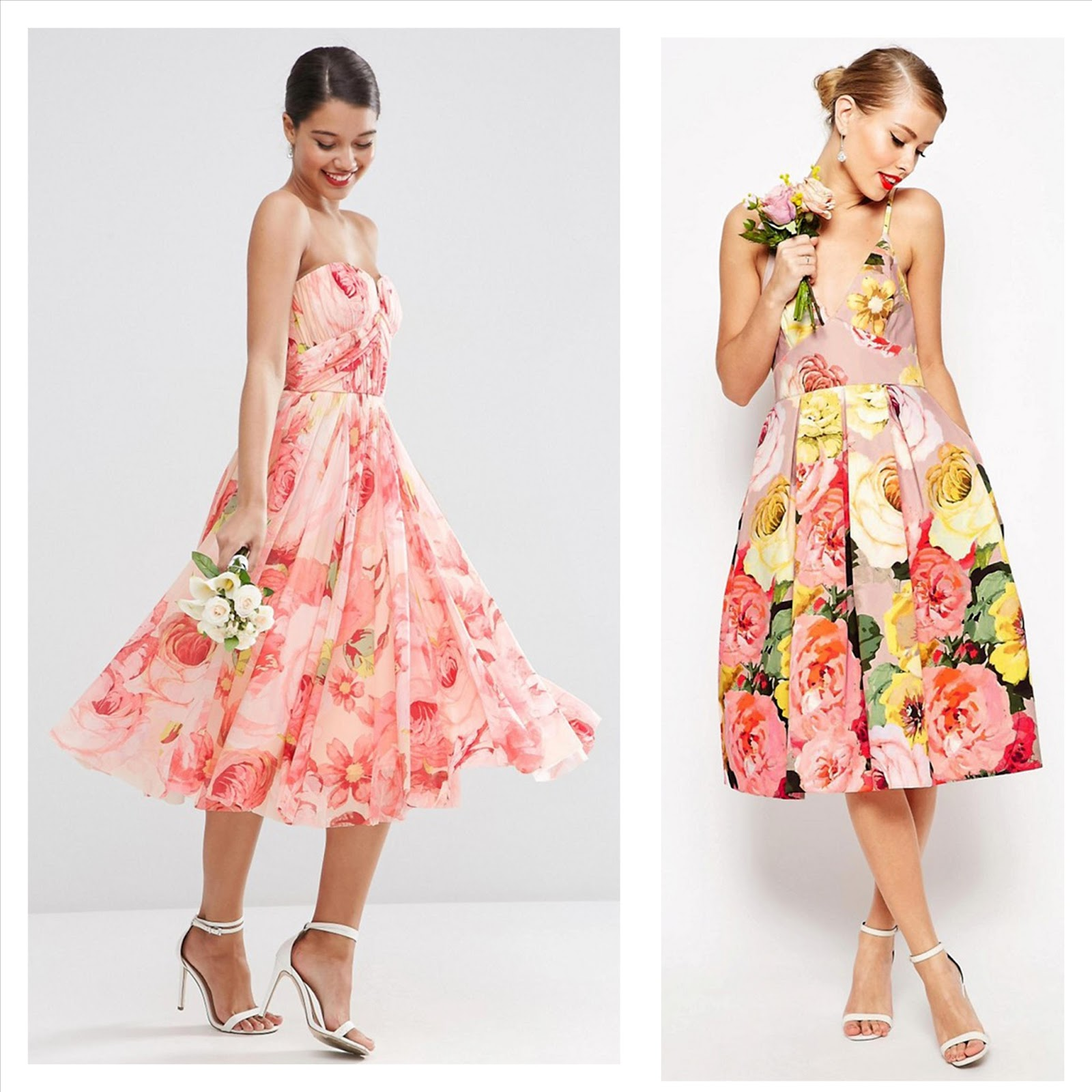 Floral patterned bridesmaid dresses brooklyn designs floral patterned bridesmaid dresses ombrellifo Images