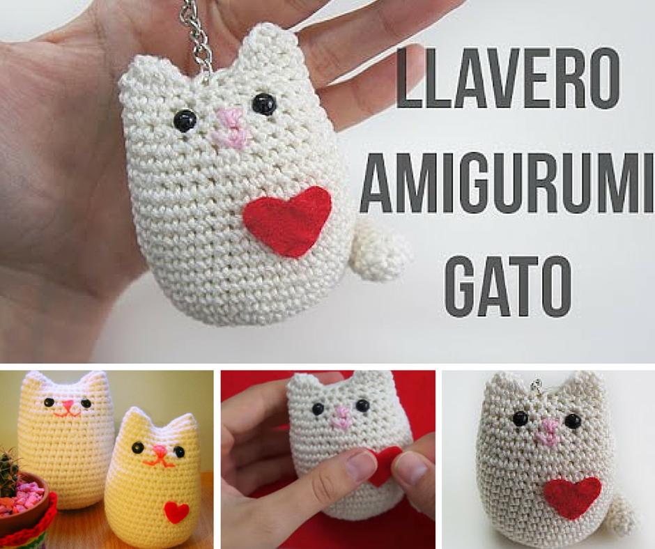 Tutorial #142: Como tejer un amigurumi de gatito a crochet ...