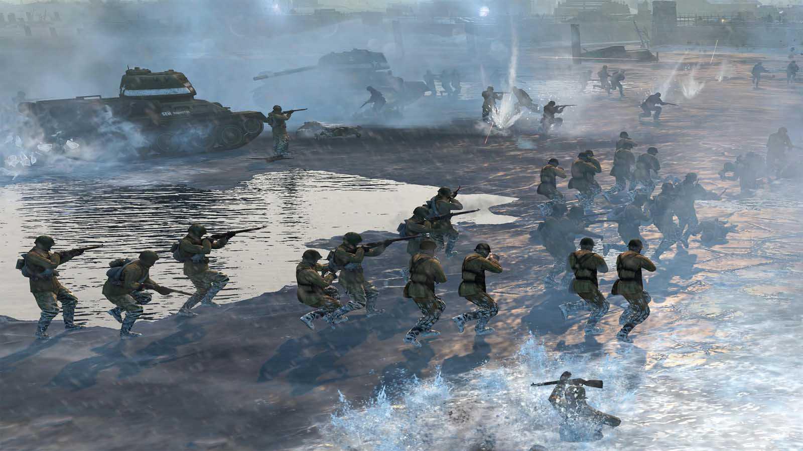 تحميل لعبة Company Of Heroes 2 Ardennes Assault مضغوطة برابط واحد مباشر + تورنت كاملة مجانا