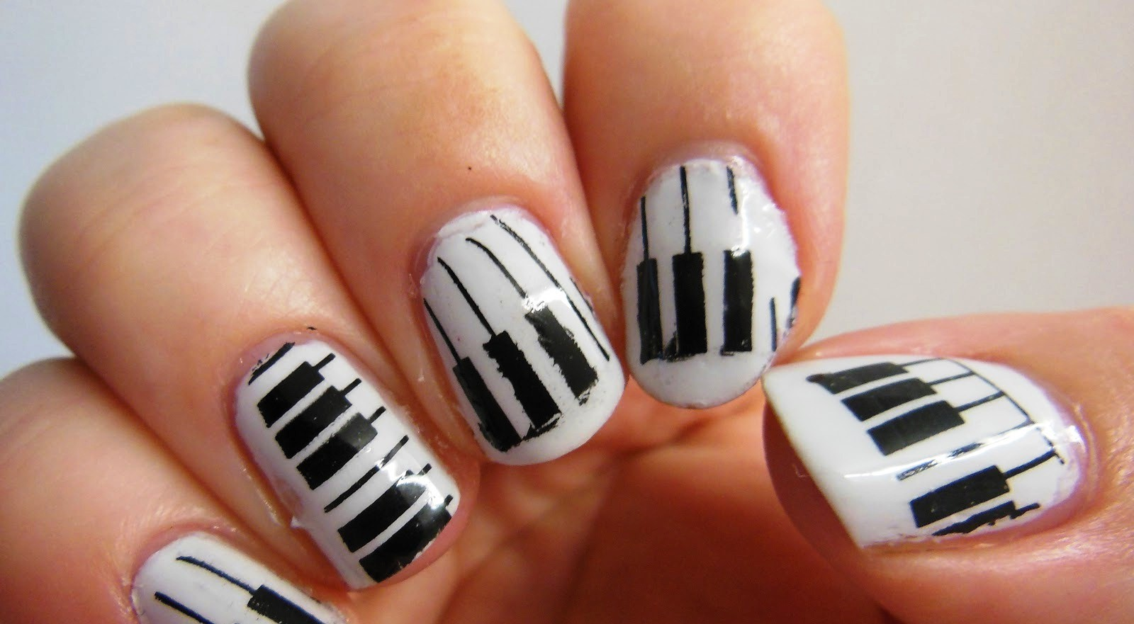 Nail designs for Musical Notes nails & Navy nails: | Fashion Art_A2Z