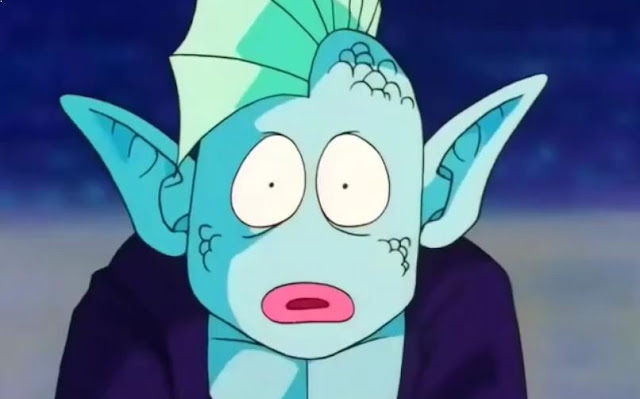 Karakter Anime Pengguna Kekuatan Elemen Air Terkuat Arqua ( Dragon Ball Z )