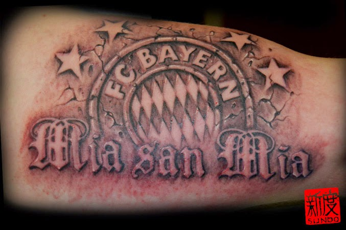 Ink Bayern Munich  FOOTY FAIR