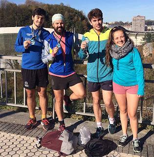 Atletismo Aranjuez en San Sebastián