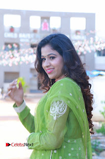 Actress Manaali Rathod Latest Pictures in Green Dress  0112.JPG