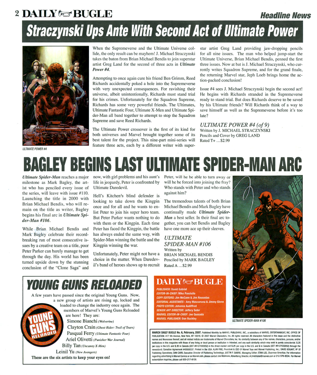 Read online Daily Bugle (2006) comic -  Issue #6 - 3