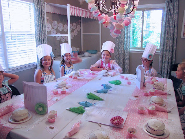 cake decorating party