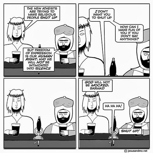 Jesus and Mo comic