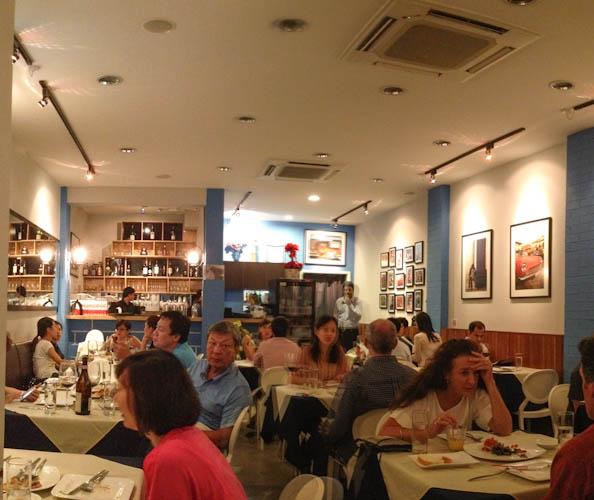 Italian Restaurants Tanjong Pagar Tras Street