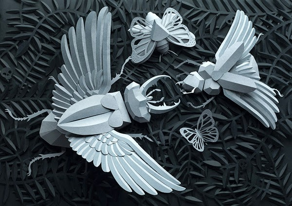 Beautiful and Amazing Paper Craft by Lobulo Design