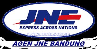 Daftar alamat agen JNE di Bandung.