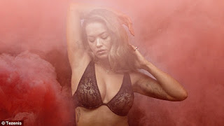 Rita Ora poses for new Tezenis lingerie campaign