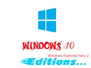 Windows 10 Editions Explored,Time to Choose Which Suits for You!
