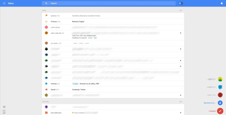 Leaked Screenshots Suggest New Gmail Interface Coming Soon