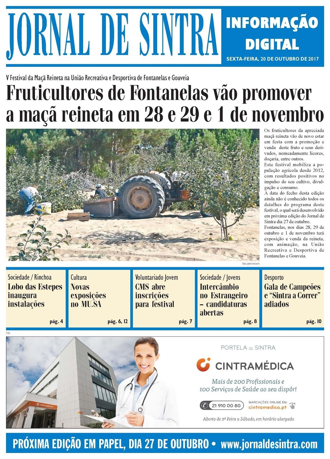Capa da edição de 20-10-2017