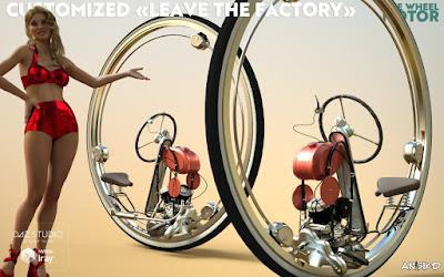 One Wheel Motor