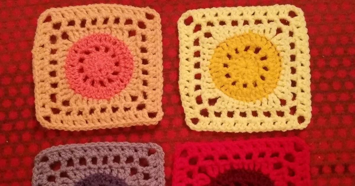 my world of crochet gelb orange rot lila. Black Bedroom Furniture Sets. Home Design Ideas
