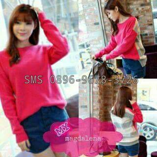 sweater unik cewe