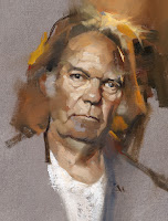Neil Young (c) Gregory Manchess