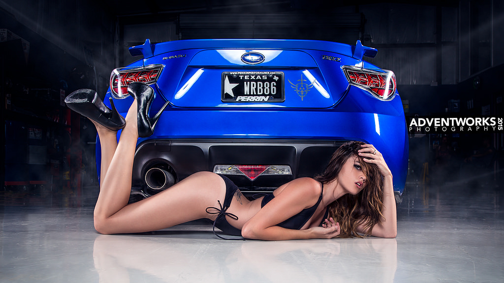 Subaru BRZ, panny i auta, zdjęcia, sexy girls and cars