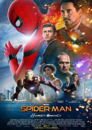 Spider-Man: Homecoming 2017 BRRip 1080p Dual Audio In Hindi English