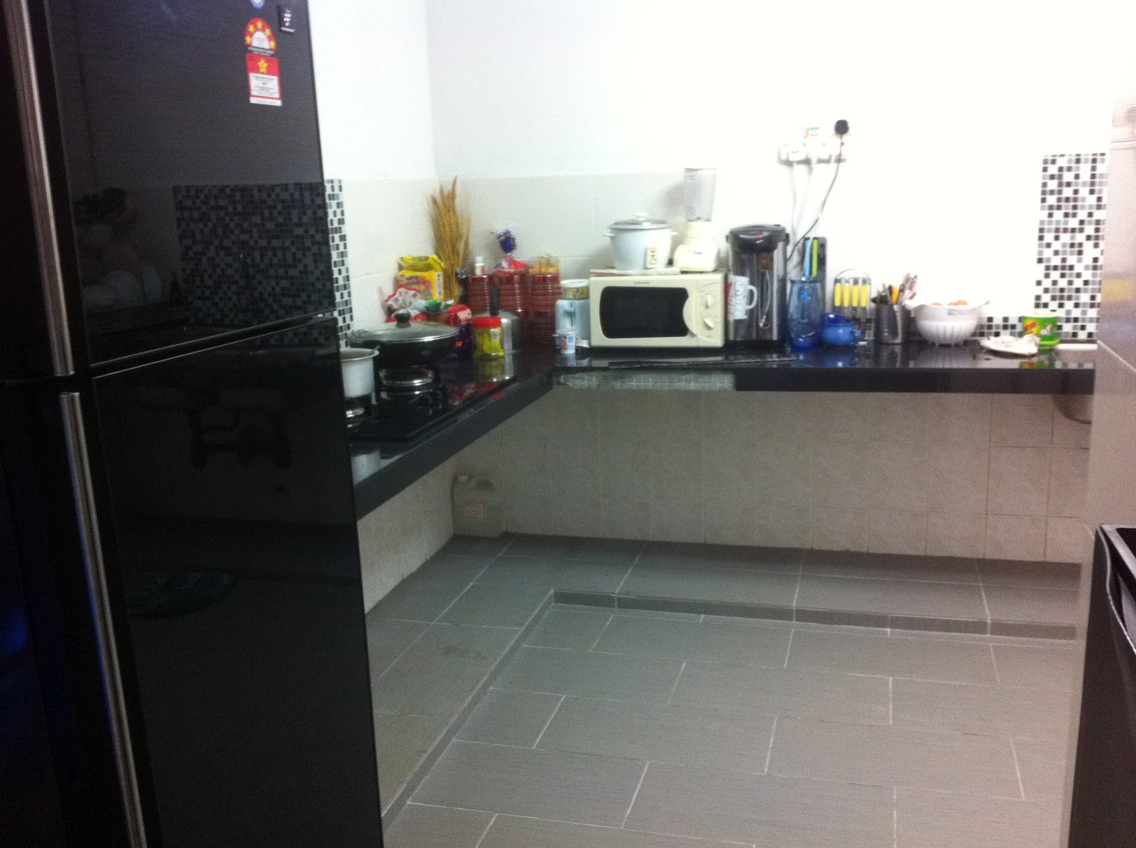 Kitchen Kabinet Dan Kos Pengubahsuaian Dapur