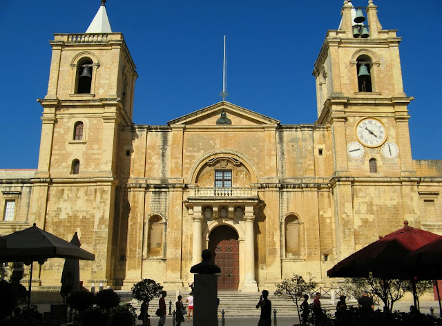 Saint John's Co-Cathedral built in the 16th century by the Knights of Malta. Photo: Ondablv.
