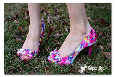 Payless Floral Shoes