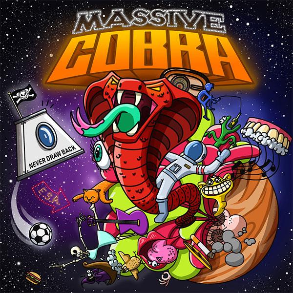 "Never Draw Back stream new song "" Massive Cobra"""