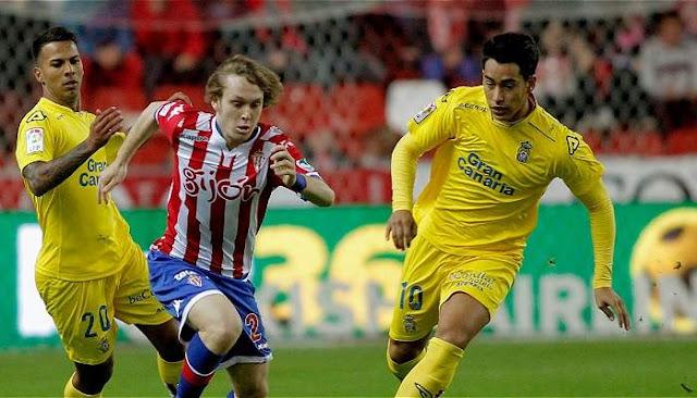 Las Palmas vs Sporting Gijon en vivo